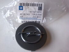 """OPEL GENUINE 16/17/18"""" ALLOY WHEEL HUB CENTRE CAP COVER CHARCOAL COVER #13214658"""