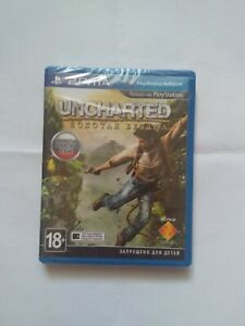 Uncharted Golden Abyss (PlayStation Vita 2012) NEW Free Shipping Russian Cover