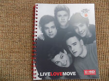NEW One Direction spiral notebook Liam Payne Harry Styles Niall Horan Louis Zayn