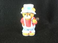 Vintage Enesco Lucy & Me Bear Figures With Pipe1980's