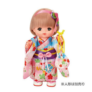 Costume for Mell Chan Japanese Kimono Pilot Japan Pretend Play Toys