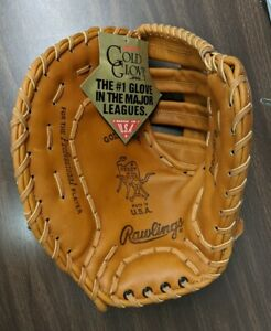 Vintage Rawlings Heart of The Hide LEFT-HANDED First Base Gold Glove Pro9FB mitt
