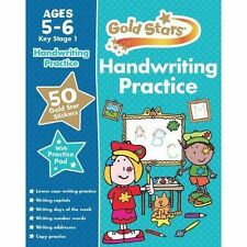 Very Good, Gold Stars Handwriting Practice Ages 5-6 KS1, Parragon, Book