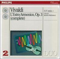 VIVALDI: L'ESTRO ARMONICO, OP. 3 NEW CD