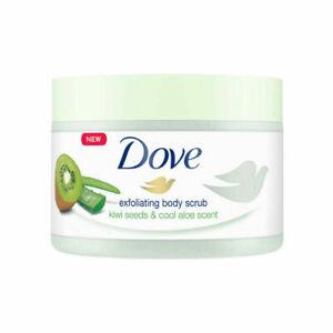 Dove Exfoliating Body Scrub Kiwi Seeds & Aloe Scent 225ml