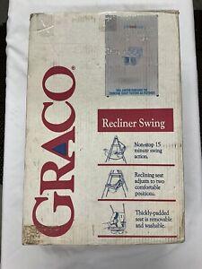 Vintage GRACO Swyngomatic Baby Swing Crank With Original Box