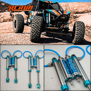 RC Off Road Pressure Piggyback Shock Absorber Rock Crawler Car Parts & Acces Toy