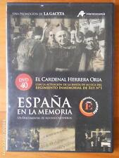 DVD ESPAÑA EN LA MEMORIA 40 - EL CARDENAL HERRERA ORIA - CAJA SLIM (I4)