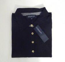 NEW JONES NEW YORK Signature Women's Short Sleeve Stretch POLO Shirt Black S