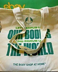 The Body Shop-100% Organic Cotton Shopper Bag-Shopping-Carrier-Fair Trade