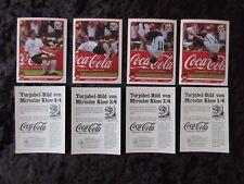 Panini wm 2010 klose salto mortal sticker completamente 1 - 4 coca cola World Cup 10 --