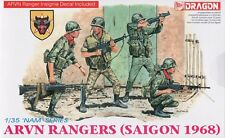 Dragon 1/35 3314 ARVN Rangers (Saigon 1968) (Vietnam War) (NAM Series) (4 Figs)