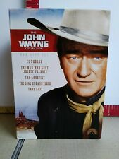 John Wayne Collection (DVD, 5-Disc Set) True Grit Shootist El Dorado Valance Etc