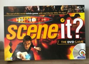 DOCTOR WHO SCENE IT DVD BOARD GAME *Multi Listing* Choose your spare pieces