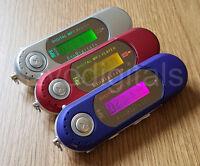 NEW EVO 4GB MP3 WMA USB MUSIC PLAYER WITH LCD SCREEN FM RADIO, VOICE RECORDER +