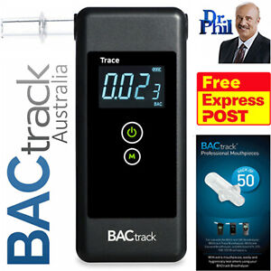 Breathalyser. Alcohol Breath Tester - BACtrack Trace Pro. XTEND® FUEL CELL +50MP