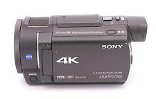 Sony Handycam FDR-AX33 Wi-Fi 4K Ultra HD Video Camera Camcorder - Black