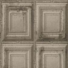 PANNELLO di legno effetto anticato Carta da parati-Rasch 932607-Grigio