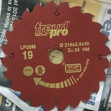 Freud LP20M019 216x2,4x30 Pro Ind Lama Circolare per macchine portatili