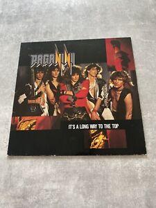 Paganini – It's A Long Way To The Top Vinyl LP 1987 Vertigo German