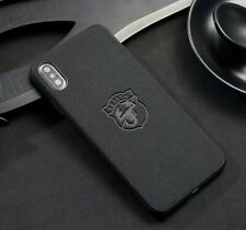 iPhone fit Abarth Suede Alcantara Case Cover All Models UK