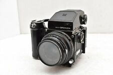Zenza Bronica Film Camera w/ 75mm Lens AE Finder From JAPAN Vintage