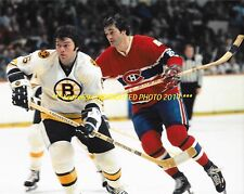 PETER MAHOVLICH In ACTION vs HATED Bruins 8x10 Photo MONTREAL CANADIENS GREAT~@@