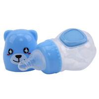 Baby Milk Bottle Drinking Water Kids Feeding Bottle Smart Temperature Nursing D
