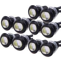 White 12V 10W Eagle Eye LED Daytime Running DRL Backup Light Car Auto Lamp JRBD