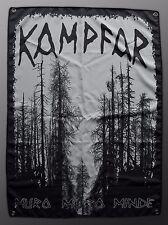 Kampfar - muro muro minde, Stoff Flagge, poster cloth flag 70 x 100 cm, NEW