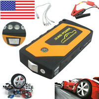 69800mAh 4USB Car Jump Starter Pack Booster Charger Battery Power Bank USA Good