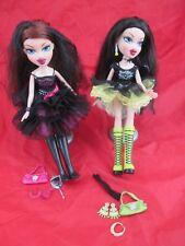 BRATZ Wicked Twins Ciara et Diona poupées avec accessoires-très rare