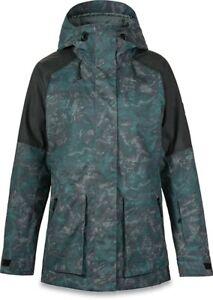 New Dakine Women's Weatherby Snowboard Jacket Medium Black / Madison