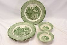 Royal The Old Curiosity Shop Dinner Plates and Fruit Bowls Lot of 6