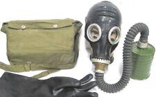 Gasmaske  Halloween Filter Tasche Gummischlauch Latex Fetisch Fasching Karneval