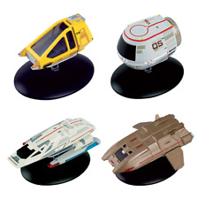 Star Trek Shuttle Set #3 - 4 Stück- Metall Modell Star Trek Eaglemoss neu ovp.