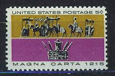 ESTADOS UNIDOS/USA 1965 MNH SC.1265 Magna Carta 1215