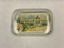 ANTIQUE 1904 WORLD'S FAIR U.S. GOVERNMENT BUILDING ST. LOUIS GLASS PAPERWEIGHT