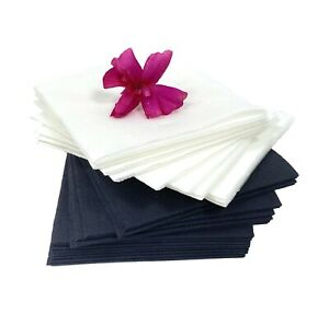 100pcs Cocktail Napkin Extra Soft 2ply (20cm) - Disposable Dinner Party Wedding