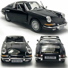 1:32 Porsche 911 Sports Car Model Diecast Collectable Vehicle Display Gift Black