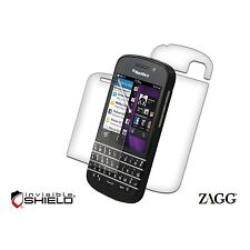 Zagg Invisible SHIELD Blackberry Q10 BB10 Full Body Protection