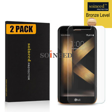 [2-Pack] SOINEED Tempered Glass Protector for LG K20 Plus [K10 2017] TP260 MP260
