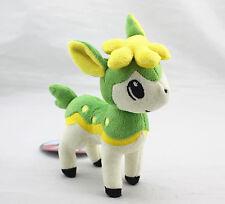"New Pokemon Center 11""Green Summer Deerling Shikijika Soft Plush Doll Cute Gift"