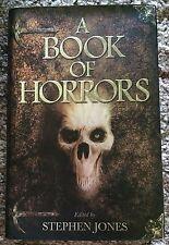 A BOOK OF HORRORS Jones (ed) 1st ed UK HC ALL ORIGINAL KING/CAMPBELL/KIERNAN etc