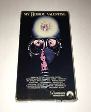 MY BLOODY VALENTINE - Rare 1981 Horror VHS - Paramount 1st Release - Slasher