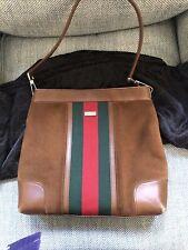 GENUINE VINTAGE GUCCI SHOULDER BAG WOMENS USED With Original Dustbag