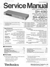 TECHNICS SH-4060 - SH 4060 - AUDIO TIMER - SERVICE MANUAL IN COLOR VERSION -