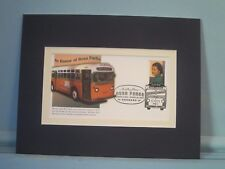Civil Rights - Montgomery Bus Strike started by Rosa Parks & First Day Cover