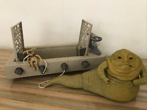 Vintage 1983 Kenner Star Wars Jabba The Hutt Throne room playset