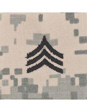 SGT (E-5) ACU Sew-On Cap Rank